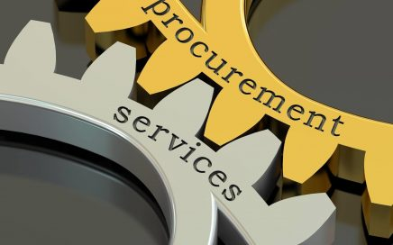 Cogs showing procurement services