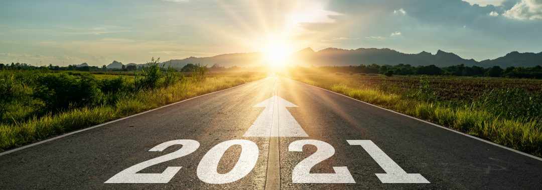 Image of the start of 2021